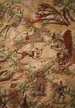 Chinoiserie Hanging Detail