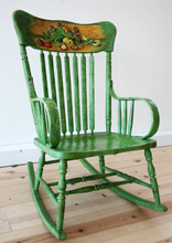 Antique Victorian Farm Rocking Chair