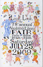 Library Fair Poster for 2009